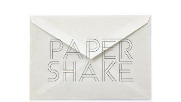 PAPERSHAKE bewegende digitale berichten